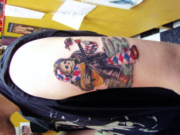 grateful dead jester tattoo