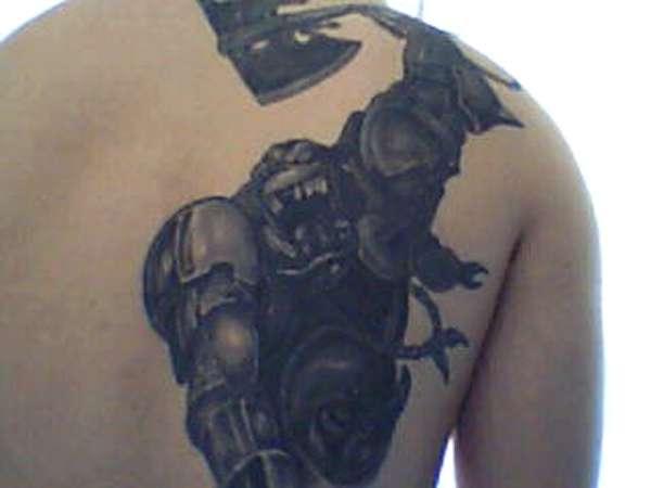 Armoured Beast tattoo