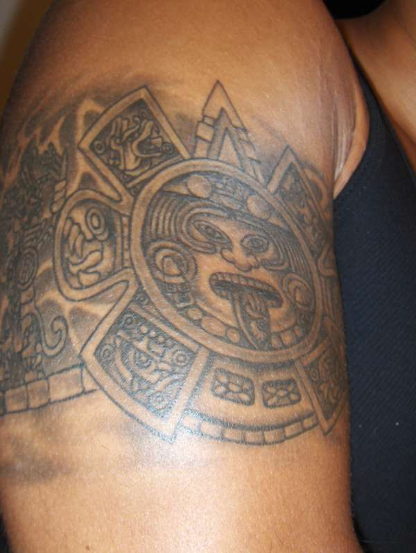 Aztec Band Tattoos Aztec Arm Band ...