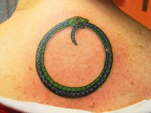 Snake Circle tattoo