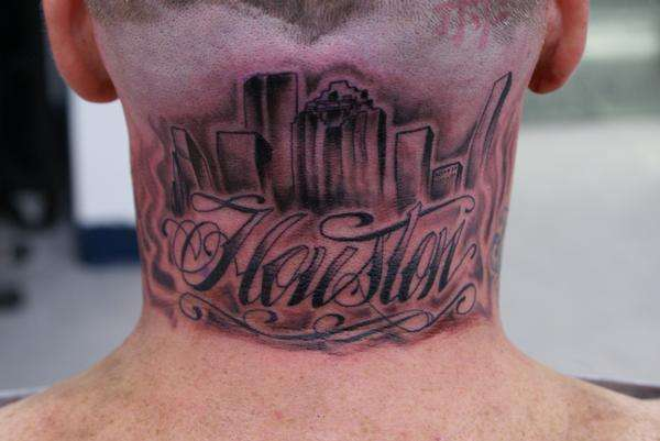HOUSTON SKYLINE tattoo