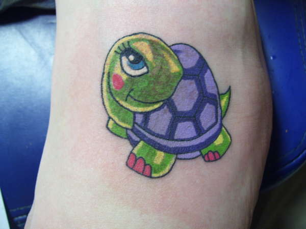 Mertle Turtle tattoo