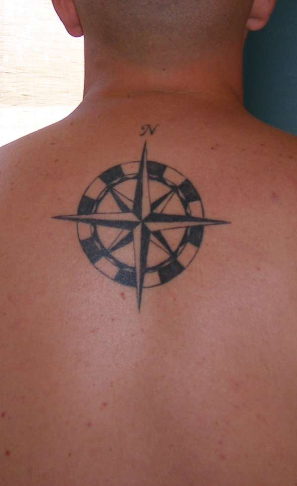 My compass rose tattoo