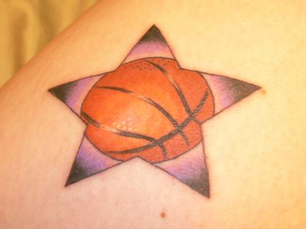 Basketball Star tattoo
