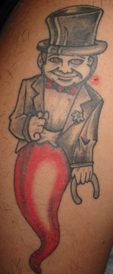 tattoo cornudo