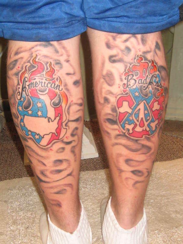 American badass tattoo for Badass first tattoos