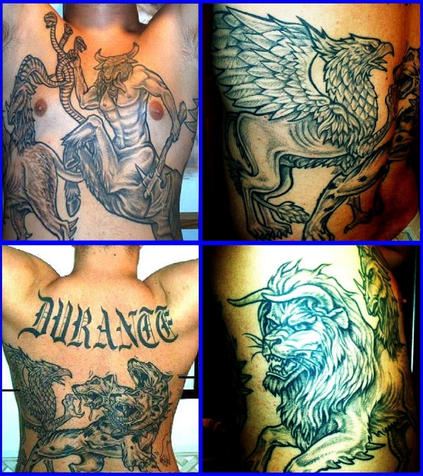 DURANTE tattoo