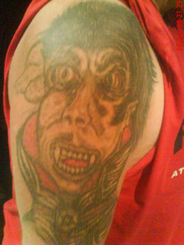 My Vampire Tattoo tattoo