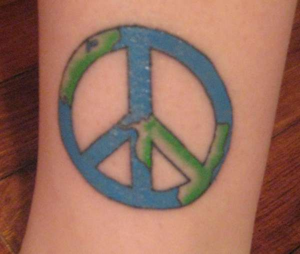 Peace On Earth Tattoo