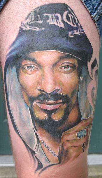 Snoop Dogg tattoo