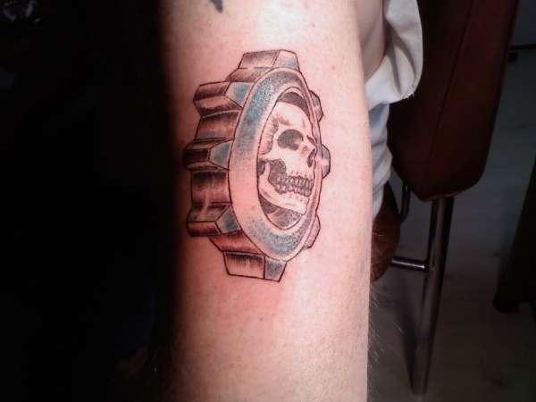 Gears of War tattoo