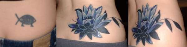 Evolution Of A Lotus Flower Tattoo