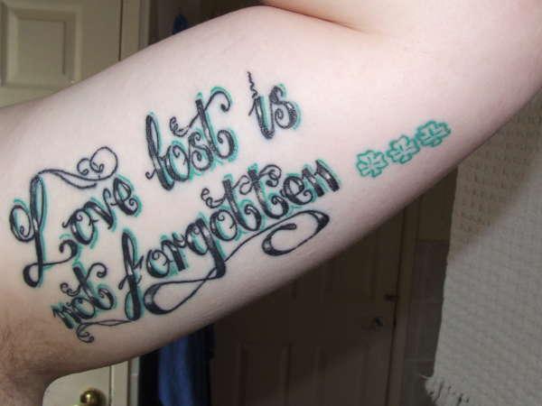 love lost tattoo