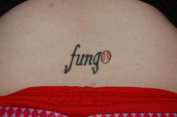 Mascot Name tattoo