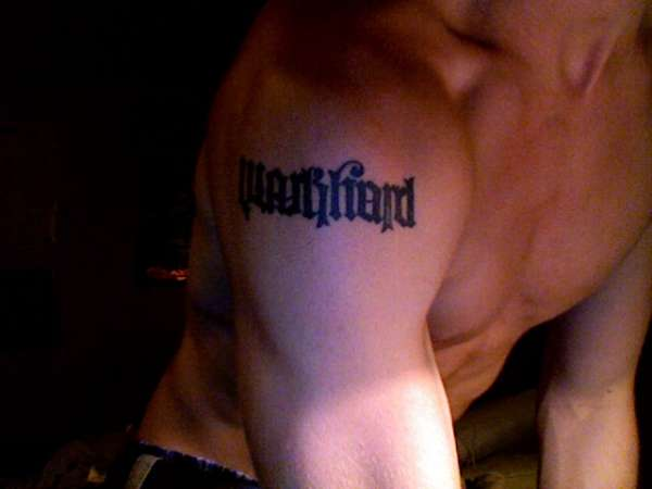 work hard/play hard tattoo