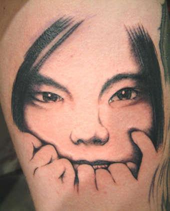 Bjork Tattoo