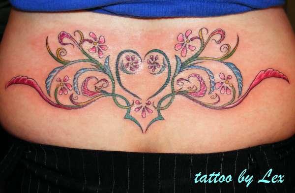 Jess's back pice tattoo