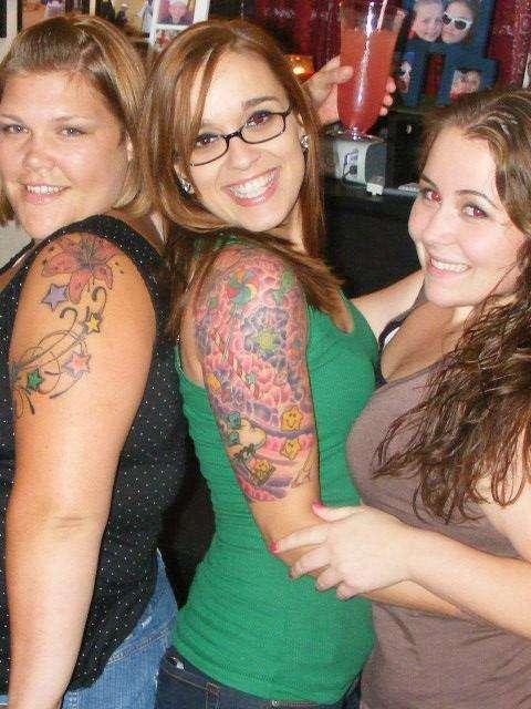 candy/carebears tattoo
