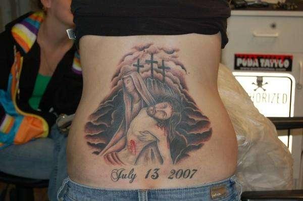 Jesus and Mary Tattoo tattoo