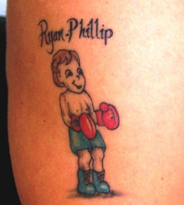 My Little Boy Tattoo