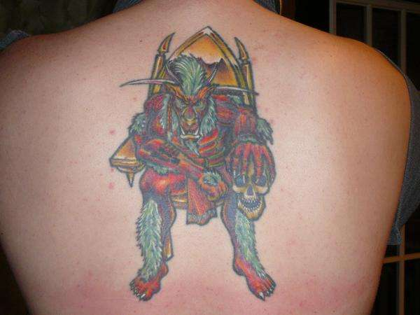 Minotaur tattoo