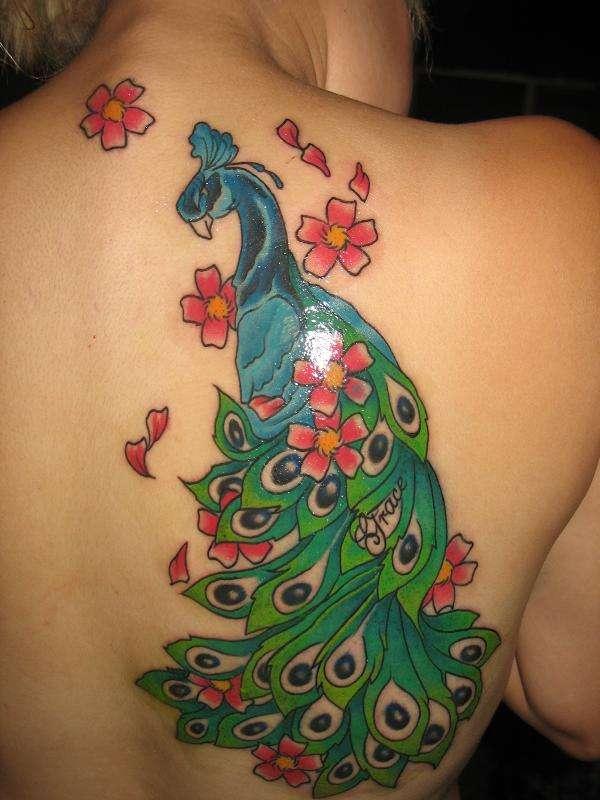 Peacock1 tattoo