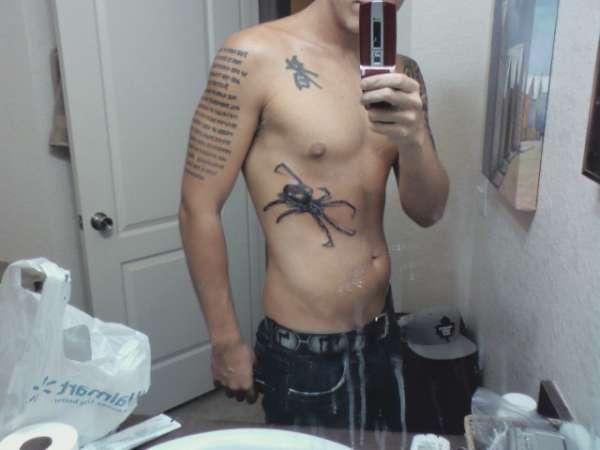 Black Widow Spider tattoo