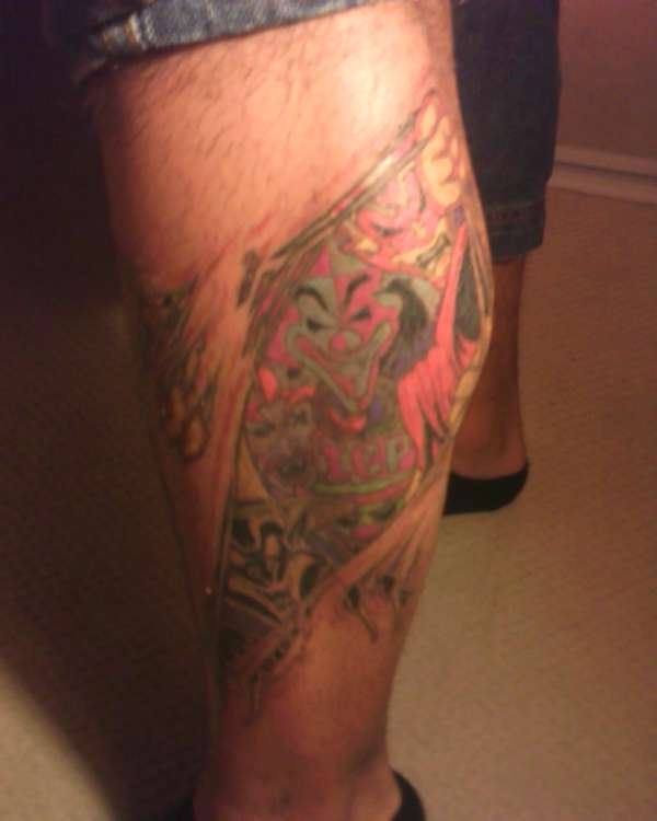Jokers Cards/Icp/Juggalo tattoo