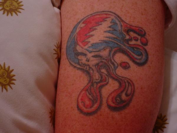 Grateful Dead tattoo