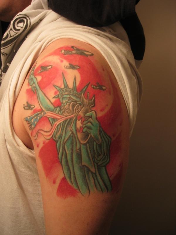 AMERICA tattoo
