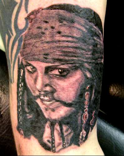 Captain Jack tattoo