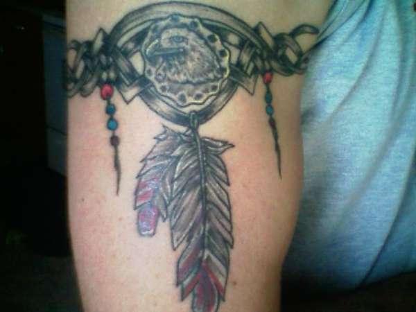 indian armband tattoo