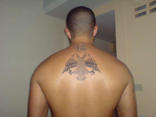 Byzantine Two Headed Eagle Tattoo