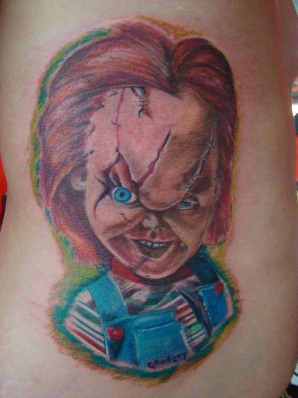 Chucky! tattoo