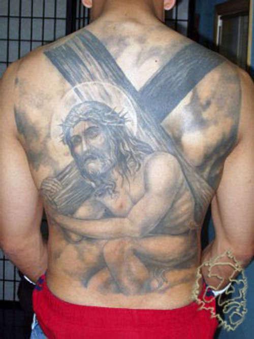 jesus tattoo tattoo