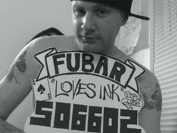 Fubar.com salute tattoo