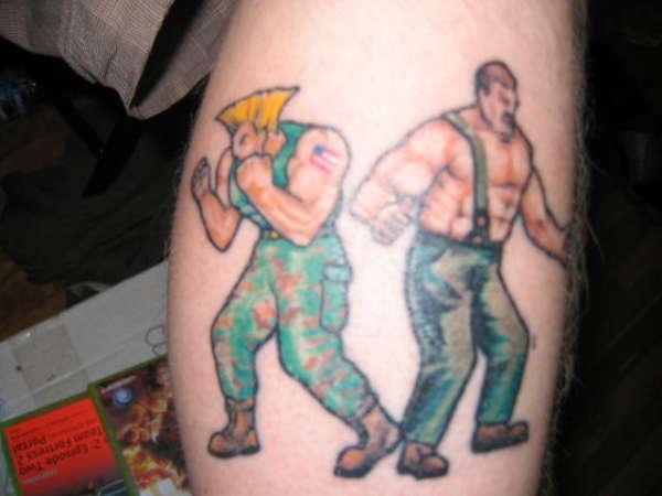 Guile Haggar Tattoo