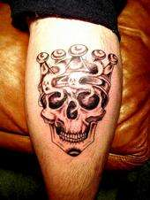 Skull King tattoo
