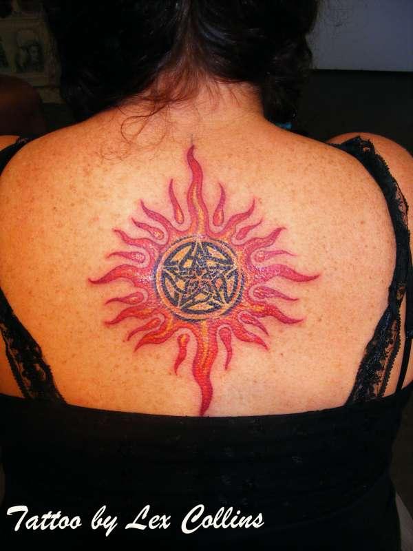 rosies sun tattoo