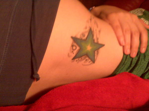 Star2 tattoo