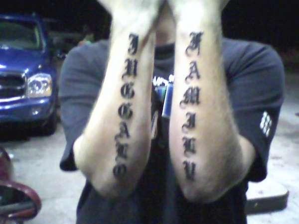 Juggalo Family tattoo