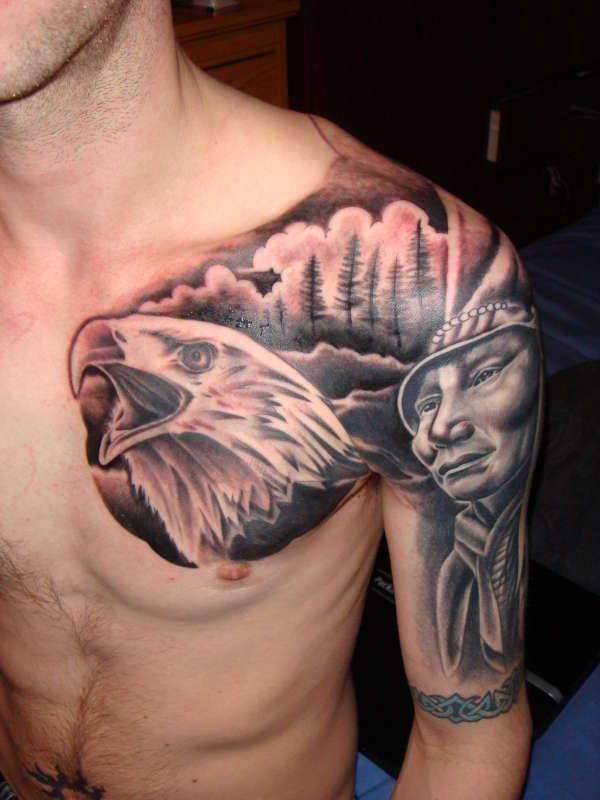 Eagle 2 (part 6) tattoo