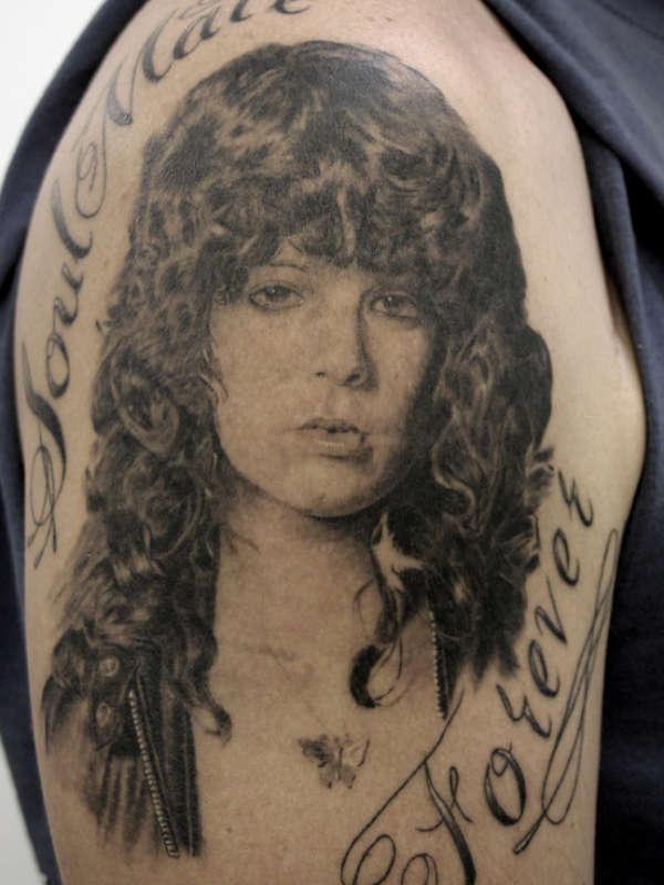 Soul Mate Portrait tattoo
