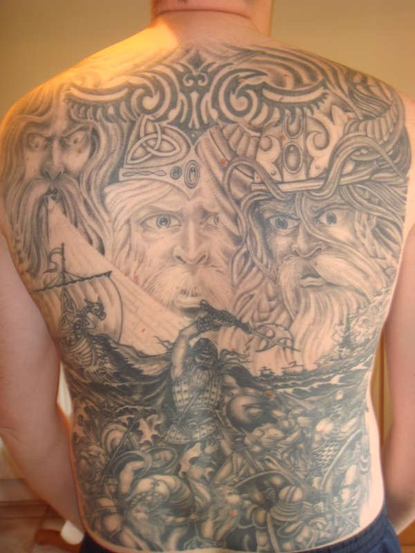 viking battle tattoo