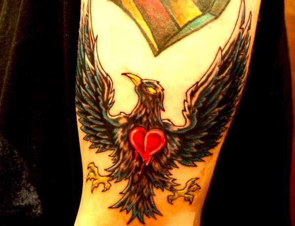 Blackbird tattoo