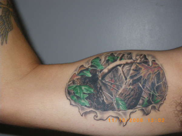 Camo tattoo