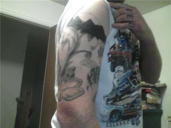 Start of my sleeve tattoo