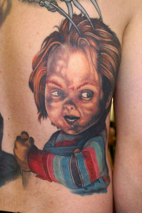 chucky tattoo designs stencils pictures to pin on pinterest tattooskid. Black Bedroom Furniture Sets. Home Design Ideas