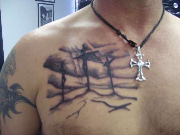 3 Cross' Tattoo