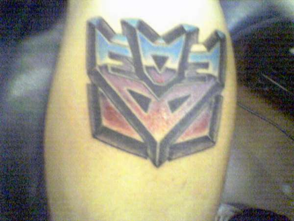Decepticon tattoo